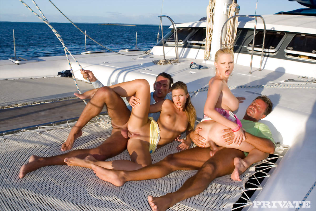 party boat porn